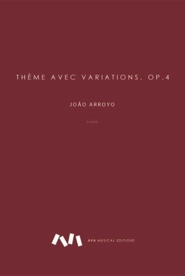 Picture of Thème Avec Variations Op.4