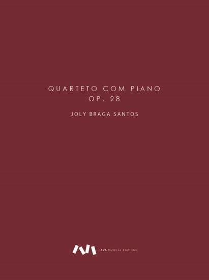 Imagem de Quarteto com Piano, op. 28