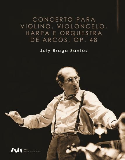 Imagem de Concerto para Violino, Violoncelo, Harpa e Orquestra de Arcos, op. 48