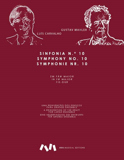 Picture of SYMPHONY No.10, F# major, for large ensemble