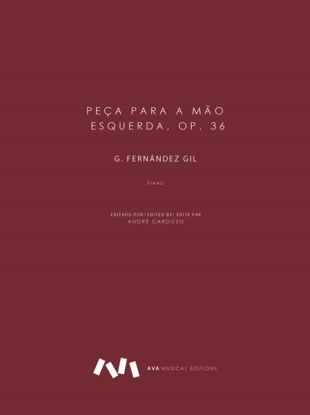 Picture of Peça para a mão esquerda op. 36