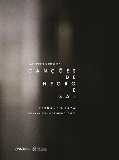 Imagem de Canções de negro e de sal