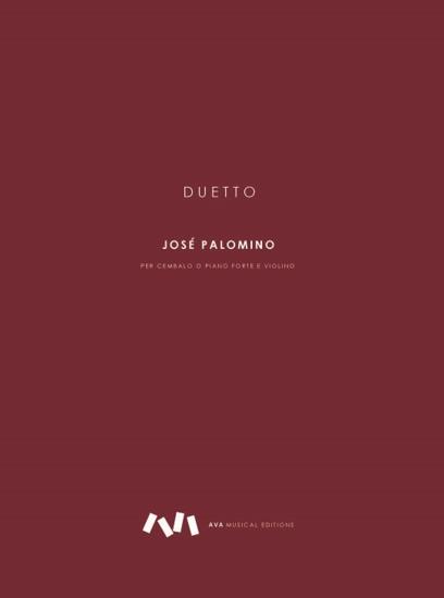Picture of Duetto per Cembalo o Piano Forte e Violino