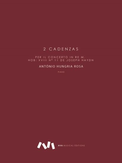 Imagem de 2 Cadenzas per il Concerto in Re M. Hob: XVIII nº 11 de Joseph Haydn