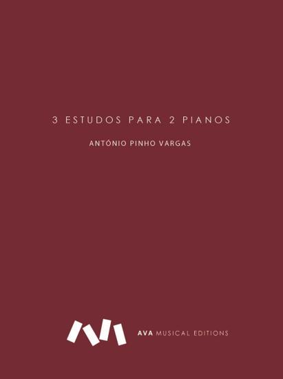 Imagem de Três Estudos para 2 Pianos