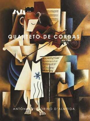 Imagem de Quarteto de Cordas, op.148