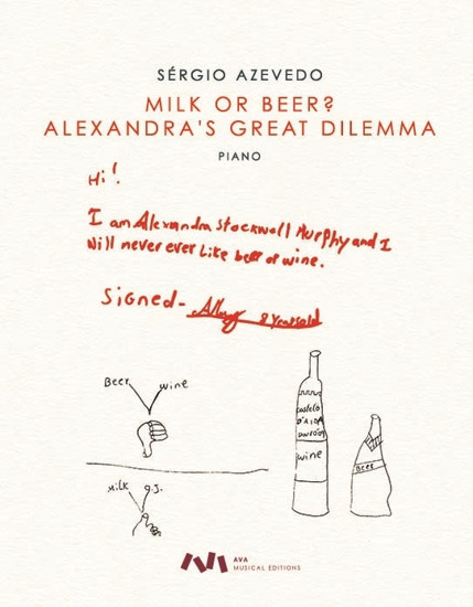 Picture of Milk or Beer? Alexandra's Great Dilemma