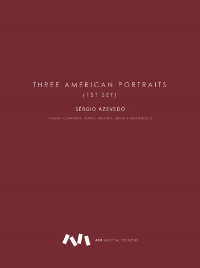 Imagem de Three American Portraits (1st set)