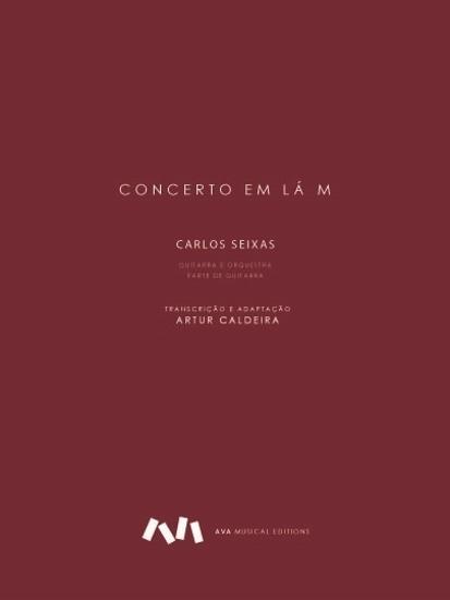 Imagem de Concerto em Lá M - Parte de guitarra
