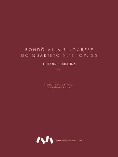 Imagem de Rondò alla Zingarese do Quarteto n.°1, op. 25