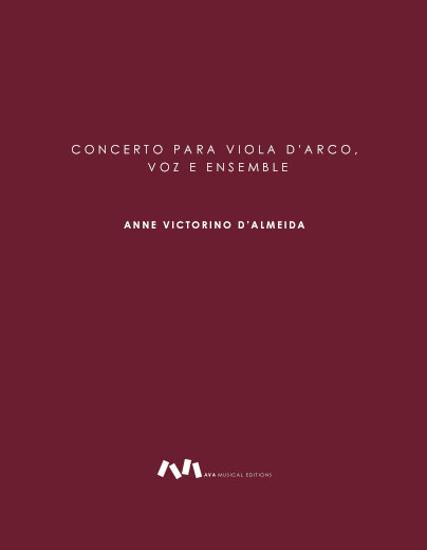 Imagem de Concerto para Viola d'Arco, Voz e Ensemble