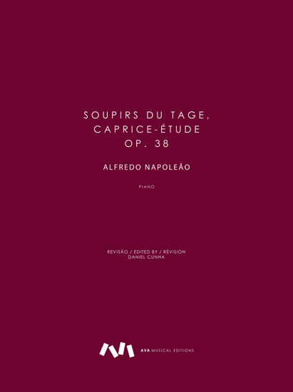 Picture of Soupirs du Taje, Caprice-Étude, op. 38