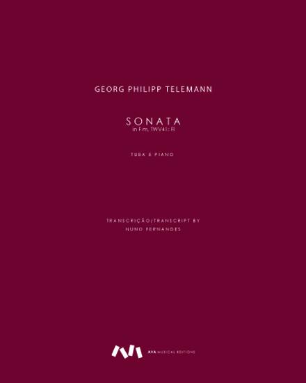 Imagem de Sonata in F m, TWV41: Fl