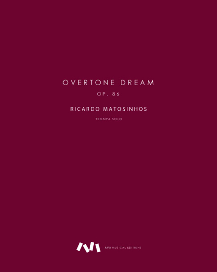 Picture of Overtone Dream, op. 86