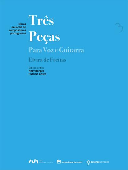 Imagem de Três Peças para Voz e Guitarra