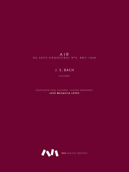 Imagem de Air da Suite Orquestral nº3, BWV 1068